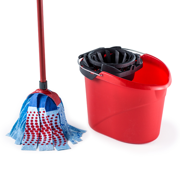 Vileda SuperMocio 3Action XL Mop & Bucket Set – Ready to use mop set